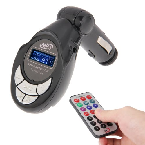 Car Stereo Bluetooth FM Transmitter