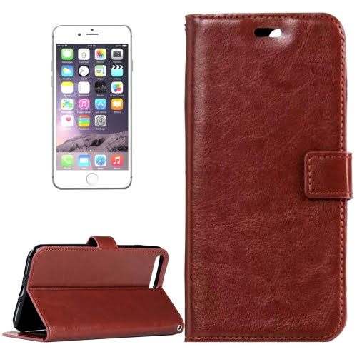 iPhone 7 Wallet Case Brown