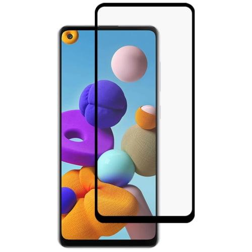 Galaxy A21s Full Glue Tempered Glass
