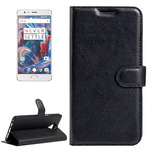OnePlus 3 / 3T Wallet Case Black