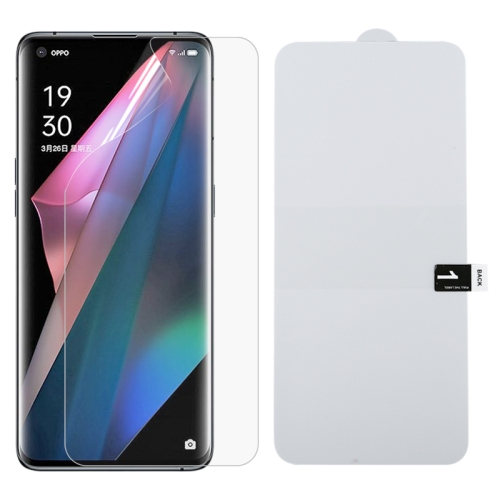 OPPO Find X3 Lite Hydrogel Screen Protector