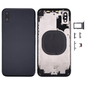 iPhone X Rear Housing Black