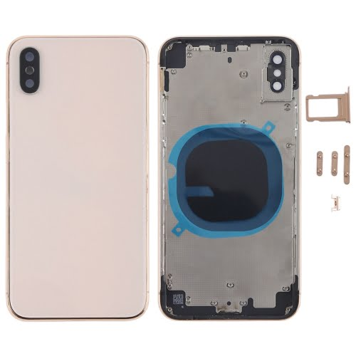 iPhone X Rear Housing Gold