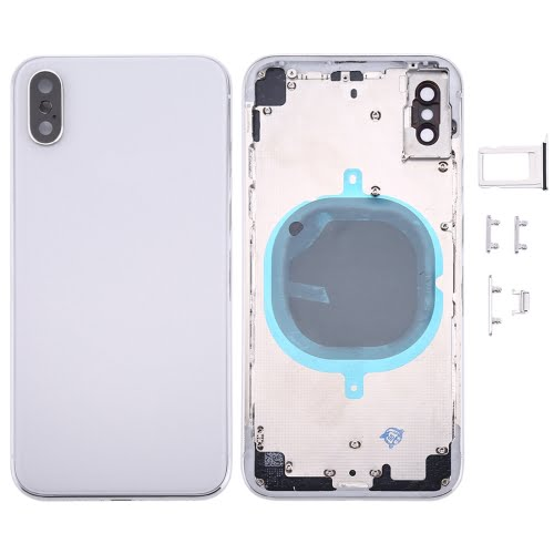 iPhone X Rear Housing Silver