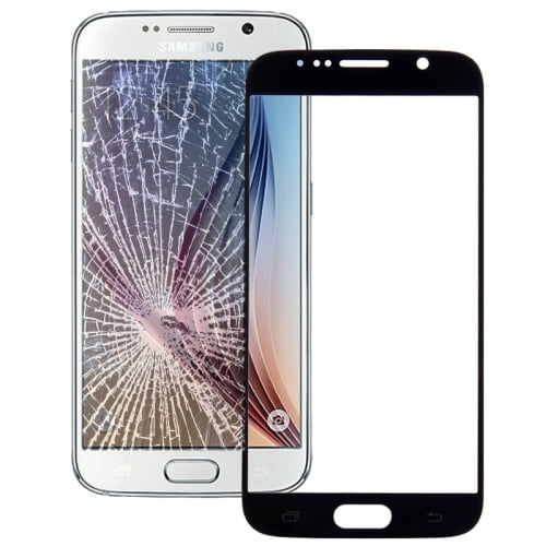 S6 Outer Glass Black