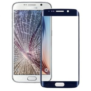 Galaxy S6 Edge Glass Blue