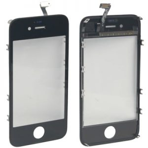 iPhone 4s Touchscreen Glass Black