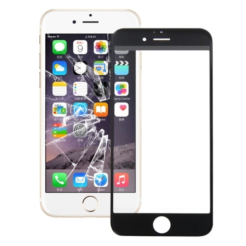 iPhone 6s Outer Glass Black