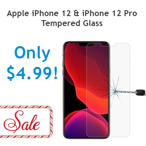 iPhone 12 iPhone 12 Peo tempered glass screen protector