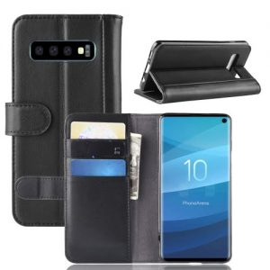 S10 Leather Wallet Case