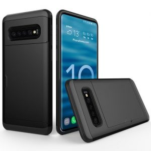S10 Case Black with Card Slot