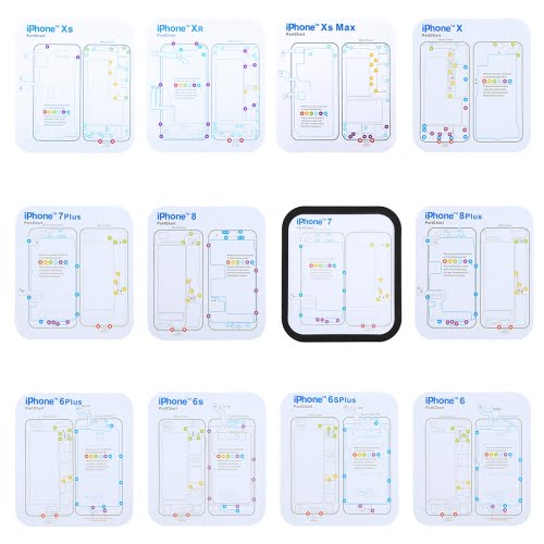 iPhone Magnetic Screw Mat (9pcs)