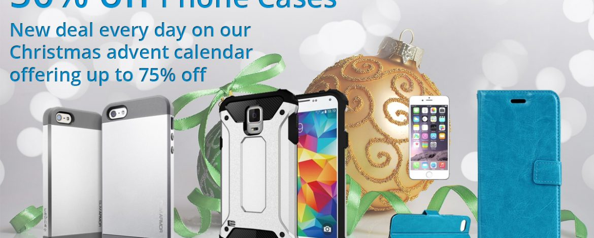 🎅On the second day of Christmas Phone Parts bring to you.🎅 50% off Phone Cases 🎁