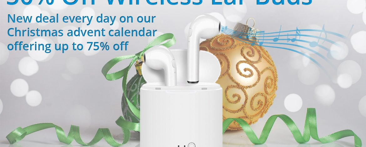 🎅On the fifth day of Christmas Phone Parts bring to you.🎅 50% off Wireless Ear Buds 🎁
