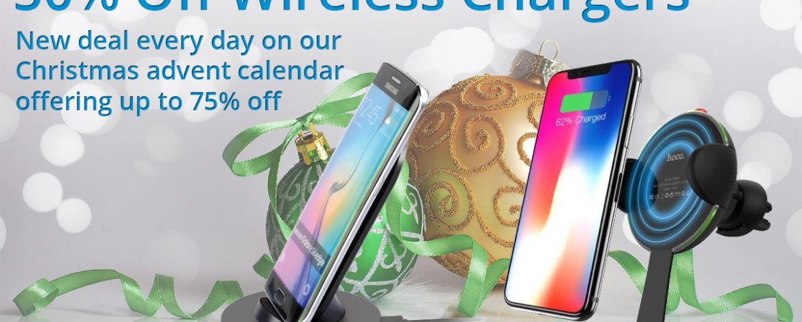 🎅On the sixth day of Christmas Phone Parts bring to you.🎅 50% off Wireless Chargers 🎁
