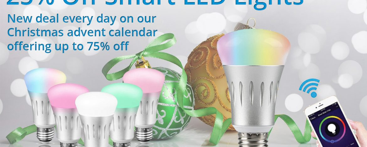 🎅On the 16th day of Christmas Phone Parts bring to you.🎅 25% off Smart LED Lights 🎁