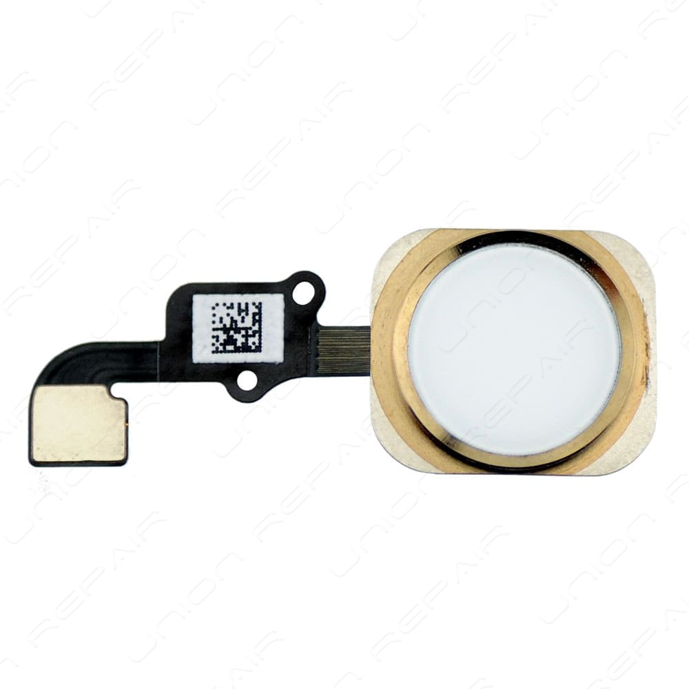 new product 382f3 058ce iPhone 6 and 6+ Home Button Gold