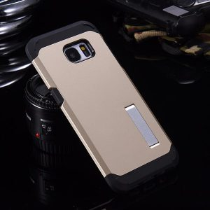 S6 Case with Stand Gold