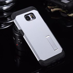 S6 Case with Stand silver