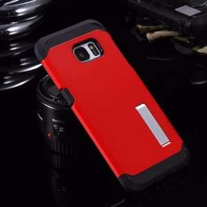 S6 Case with Stand red