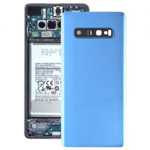 S10 Plus Back Cover with Camera Lense Blue
