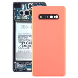 S10 Plus Back Cover with Camera Lense Pink
